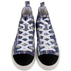 Square 2 Men s Mid Top Canvas Sneakers