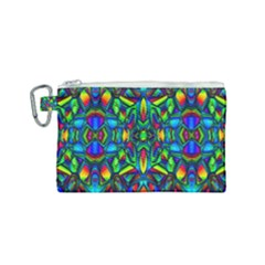Colorful 13 Canvas Cosmetic Bag (small)