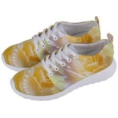 Beautiful Yellow Rose Men s Lightweight Sports Shoes by FantasyWorld7