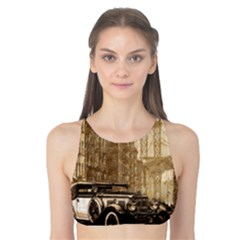 Vintage Old Car Tank Bikini Top