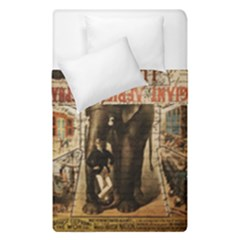 Vintage Circus  Duvet Cover Double Side (single Size)