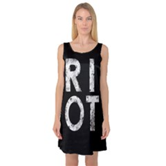 Riot Sleeveless Satin Nightdress