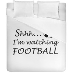 Football Fan  Duvet Cover Double Side (california King Size) by Valentinaart