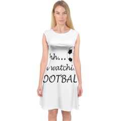 Football Fan  Capsleeve Midi Dress by Valentinaart