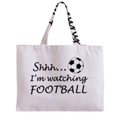Football Fan  Medium Tote Bag by Valentinaart