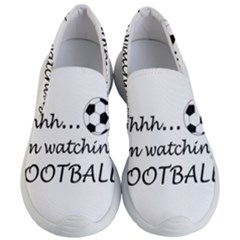 Football Fan  Women s Lightweight Slip Ons by Valentinaart