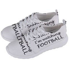 Football Fan  Men s Lightweight Sports Shoes by Valentinaart