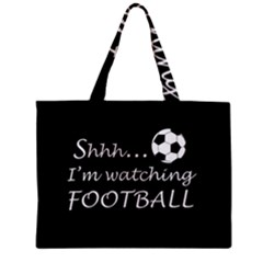 Football Fan  Zipper Mini Tote Bag by Valentinaart