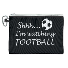 Football Fan  Canvas Cosmetic Bag (xl) by Valentinaart