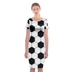 Football Classic Short Sleeve Midi Dress by Valentinaart