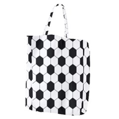 Football Giant Grocery Zipper Tote by Valentinaart