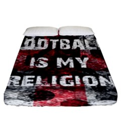 Football Is My Religion Fitted Sheet (king Size)