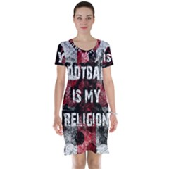 Football Is My Religion Short Sleeve Nightdress