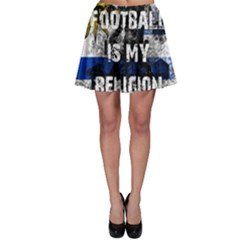 Football Is My Religion Skater Skirt by Valentinaart