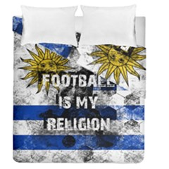 Football Is My Religion Duvet Cover Double Side (queen Size)