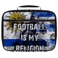 Football Is My Religion Full Print Lunch Bag by Valentinaart
