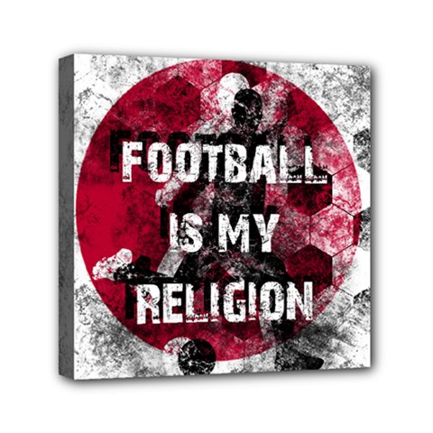 Football Is My Religion Canvas Travel Bag