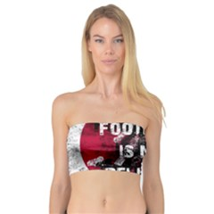 Football Is My Religion Bandeau Top by Valentinaart