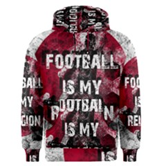 Football Is My Religion Men s Pullover Hoodie