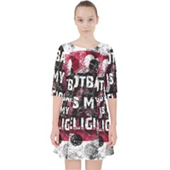 Football Is My Religion Pocket Dress by Valentinaart