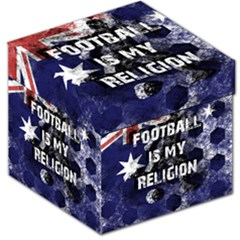Football Is My Religion Storage Stool 12   by Valentinaart