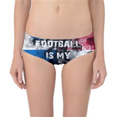 Football Is My Religion Classic Bikini Bottoms by Valentinaart