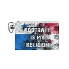 Football Is My Religion Canvas Cosmetic Bag (small) by Valentinaart