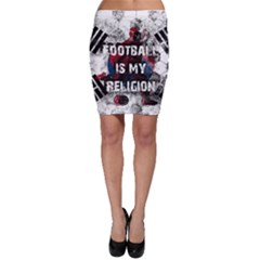 Football Is My Religion Bodycon Skirt