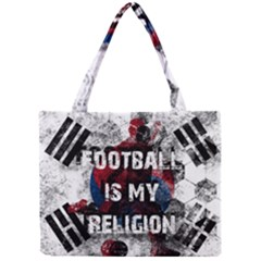 Football Is My Religion Mini Tote Bag