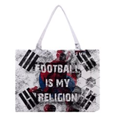 Football Is My Religion Medium Tote Bag by Valentinaart