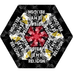 Football Is My Religion Mini Folding Umbrellas by Valentinaart