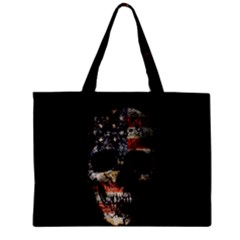 Skull Zipper Mini Tote Bag