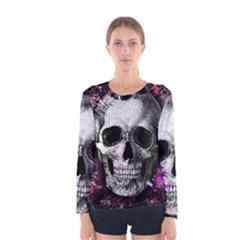 Skull Women s Long Sleeve Tee