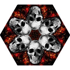 Skull Mini Folding Umbrellas