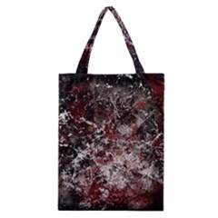 Grunge Pattern Classic Tote Bag by Valentinaart