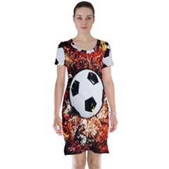 Football  Short Sleeve Nightdress