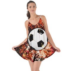 Football  Love The Sun Cover Up by Valentinaart