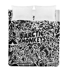 Arctic Monkeys Cool Duvet Cover Double Side (full/ Double Size)
