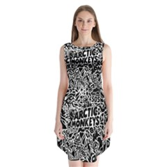 Arctic Monkeys Cool Sleeveless Chiffon Dress