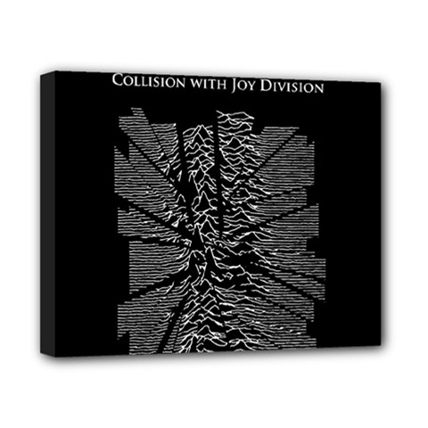 Moving Units Collision With Joy Division Canvas 10  X 8
