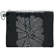 Moving Units Collision With Joy Division Canvas Cosmetic Bag (xxl)