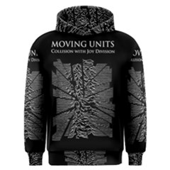 Moving Units Collision With Joy Division Men s Overhead Hoodie by Samandel