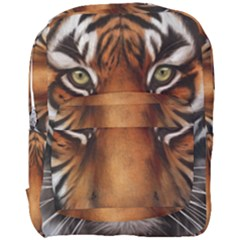 The Tiger Face Full Print Backpack