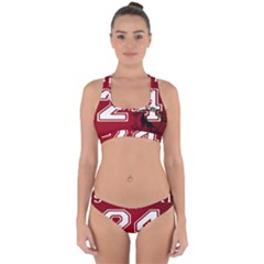 Stilinski Teen Wolf Beacon Hills Lacrosse Cross Back Hipster Bikini Set