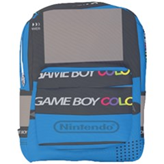 Game Boy Colour Blue Full Print Backpack