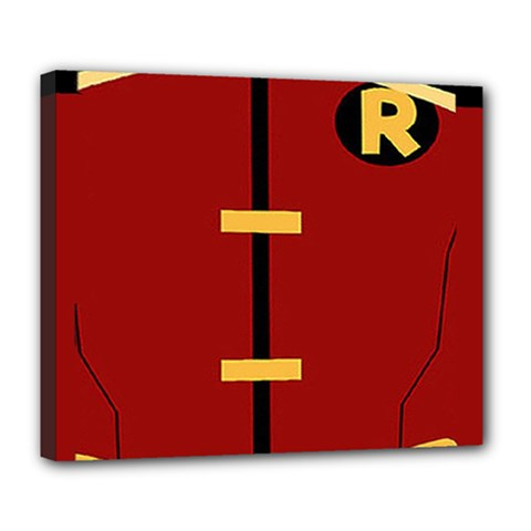 Robin Body Costume Deluxe Canvas 24  X 20   by Samandel