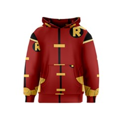Robin Body Costume Kids  Pullover Hoodie by Samandel