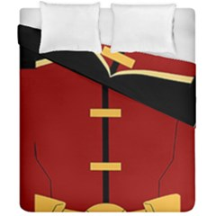 Robin Body Costume Duvet Cover Double Side (california King Size)
