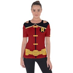 Robin Body Costume Short Sleeve Top by Samandel