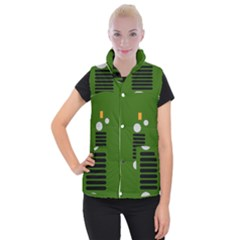 Jeep Simple Logo Women s Button Up Vest